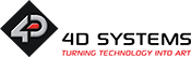 4D Systems 徽标的图片
